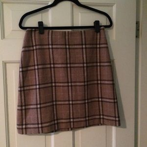 Ann Taylor shirt wool skirt NWT
